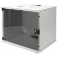 """Шкаф DIGITUS 19"""" 9U 540x400, стекл.дверь, 60kg max, серый (DN-1909-U-S-1)"""