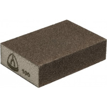 Шлифовальный эластичный брусок Klingspor 100X70X25 Р180 SK 500, 4-стор. насыпка (225167)