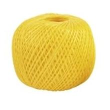 Шпагат поліпропіленовий жовтий 60 м х 1200 текс,  Сибртех (MIRI93974)