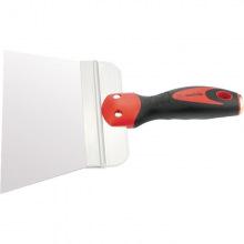 Шпатель фасадний з нержавіючої сталі 200 мм,  широке полотно, двокомпонентна ручка,  MTX (MIRI855029)