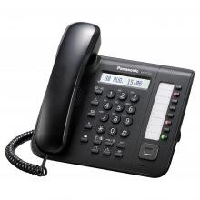 Системный телефон Panasonic KX-DT521RU Black (цифровой) для АТС Panasonic (KX-DT521RU-B)