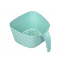 Сито-друшляк Ardesto Fresh, голубий тіфані, пластик (AR1001TP)
