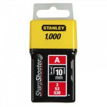 Скобы Stanley 10мм (1000шт.) (блистер) (уп.5) (1-TRA206T)