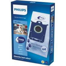 Мешки Philips для пылесоса синтетический Anti-Odeur S-bag FC8023/04 (FC8023/04)