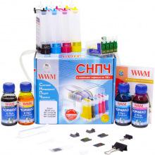 СНПЧ с Чернилами по 100г WWM для Принтера Epson IS.0268