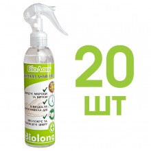 Кожный антисептик BIOLONG 20шт x 250мл с распылителем (SA-SPR-250-OPT20)