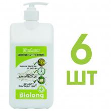 Кожный антисептик BIOLONG 6шт x 1л с дозатором (SA-DOZ-1-OPT6)