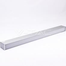 Светильник внутренний линейный LED V-TAC, SKU-378, Samsung Chip, 1200mm, 60W, 230V, 4000К, срібло (3800157638524)