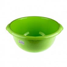 Таз пластмасовий круглий, зелений,  18 л, Elfe (MIRI92983)