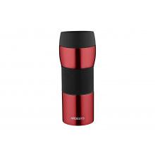 Термокружка Easy travel S Ardesto 450 мл, красный,силикон, нержавеющая сталь (AR2645STR)