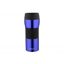 Термокружка Easy travel S Ardesto 450 мл, синий, силикон,нержавеющая сталь (AR2645STB)