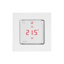 Терморегулятор Danfoss Icon RT Display In-Wall 0-40 ° C, сенсорный, встроенный, 24V (088U1050)
