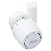 Термостатична головка Danfoss 2992, подключения RA, датчик, регулирования +5 до +26 ° C белая (013G2992)