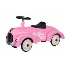 Толокар goki Ретро машина розовая  (14161G)