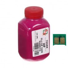Тонер и Чип АНК 35Г Magenta (Красный) 1500126