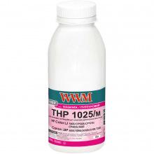 Тонер WWM THP 1025/M 35г Magenta (HP1025M)