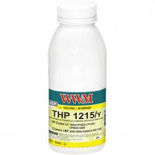 Тонер WWM THP1215/Y 40г Yellow (HP1215Y)