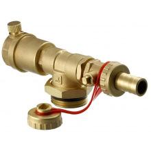 Торцевая секция Danfoss FHF-EM с ручным устройством для удаления воздуха (088U0786)
