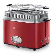 Тостер Russell Hobbs 21680-56 Retro Red (21680-56)