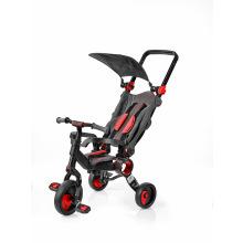 Трехколесный велосипед Galileo Strollcycle Black Красный (GB-1002-R)