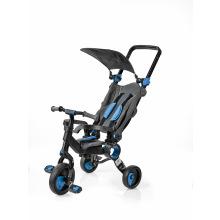 Трехколесный велосипед Galileo Strollcycle Black Синий (GB-1002-B)