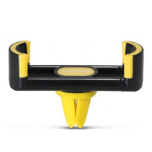 Держатель автомобильный для смартфонів Remax Fashion black+yellow (RM-C17-BLACK+YELLOW)
