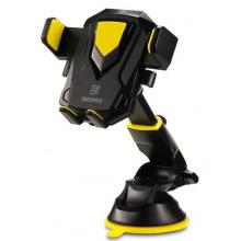 Тримач автомобільний для смартфонів Remax Transformer Holder black+yellow (RM-C26-BLACK+YELLOW)