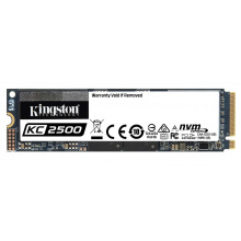 Твердотельный накопитель SSD M.2 Kingston KC2500 1TB NVMe PCIe 3.0 4x 2280 (SKC2500M8/1000G)