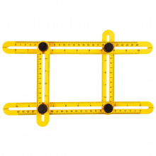 Косинець Topex регульований (шаблометр), 25см (16B476)