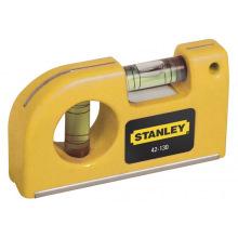 "Рівень Stanley кишеньковий 8,7см карманный ""Pokete Level"" 2 капсули (0-42-130)"