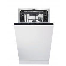Посудомоечная машина Gorenje встраиваемая 45 см./10 компл./3 прогр./полный AquaStop (GV52012)