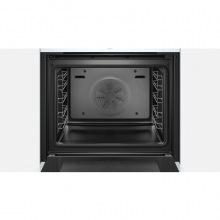 Духовой шкаф Bosch встраиваемый электрический - Ш-60см/10 прогр/71л./дисплей/білий (HBG635BW1)