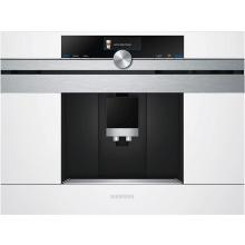 Встраиваемая кофемашина Siemens CT636LEW1 -19Бар/1600Вт/дисплей/белый (CT636LEW1)