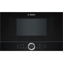 Микроволновая печь Bosch встраиваемая - 21л./900Вт/TFT дисплей/чорний (BFL634GB1)