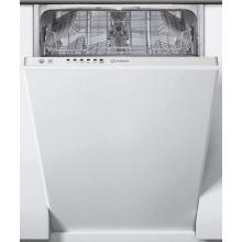 Посудомийна машина Indesit вбудована DSIE 2B10 A+/ 45см./10 компл./Led-індикація/Бiлий (DSIE2B10)