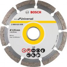 Відрізний диск алмазний Bosch ECO Universal 125-22.23 (2.608.615.028)