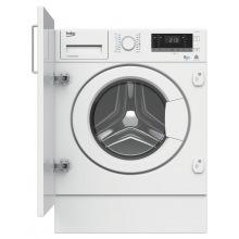 Вбудована прально-сушильна машина Beko HITV8733B0 - 54 см./8кг/5 кг/1400 об./16 прогр/білий (HITV8733B0)