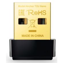 WiFi-адаптер TP-Link Archer T2U nano AC600, USB 2.0 (ARCHER-T2U-NANO)