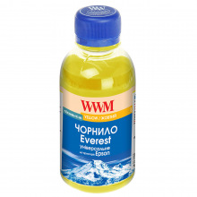Чорнило WWM EVEREST Yellow для Epson 100г (EP02/YP-2) пігментне