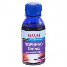 Чорнило WWM SIRENA Cyan для Epson 100г (ES01/C-2) сублімаційне