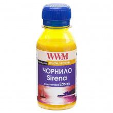 Чорнило WWM SIRENA Yellow для Epson 100г (ES01/Y-2) сублімаційне