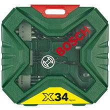 Набор оснастки Bosch X-LINE-34 NEW GENERATION 34шт (2.607.010.608)