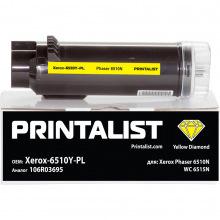 Туба PRINTALIST заміна Xerox 106R03695 Yellow (Xerox-6510Y-PL)