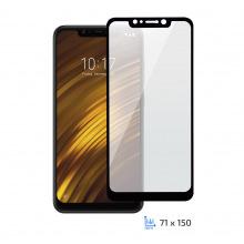 Защитное стекло 2E Xiaomi Pocophone F1 2.5D Black border FG (2E-TGMI-PF1-25D-BB)