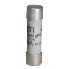 Предохранитель ETI CH 10x38 gPV 12A 1000V (30kA) (2625077)