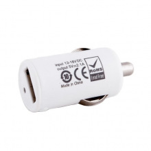 Зарядний пристрій PowerPlant USB A 2.1 автомобільне (DV00DV5037)