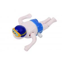 Заводна іграшка goki Плавець синій  (13097G-1)