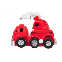 Заводна машинка goki червона  (13219G-3)