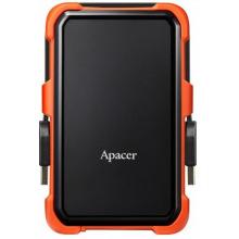 """Жорсткий диск Apacer 2.5"""" USB 3.1 2TB AC630 захист IP55 Black/Orange (AP2TBAC630T-1)"""
