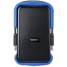"Жорсткий диск Apacer 2.5"" USB 3.1 2TB AC631 захист IP55 Black/Blue (AP2TBAC631U-1)"